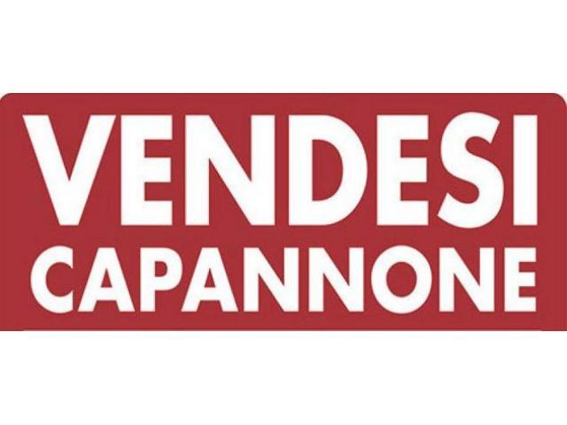 Rif: CP-23 - CAPANNONE IN VENDITA A MARCON