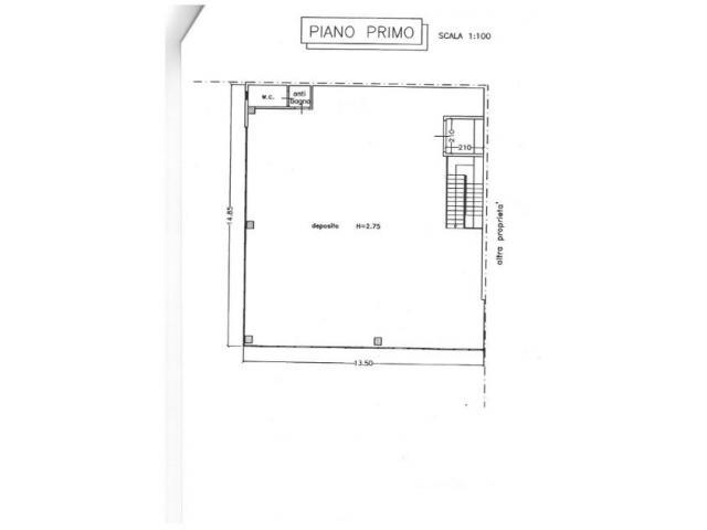Capannone artigianale in affitto a Empoli 400 mq  Rif: 362813