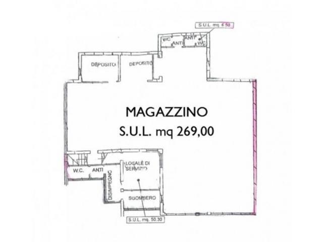 Affitto Magazzino in VIA ROMEA