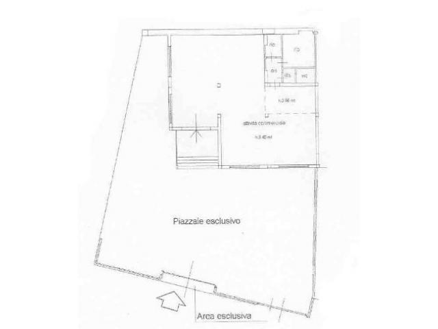 Capannone commerciale in affitto a Livorno 90 mq  Rif: 451776