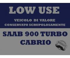 SAAB 900 Turbo Benzina Cabrio
