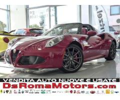 Alfa Romeo 4C 1750 TBi Spider XENON PACK RACING II PINZE ROSSE