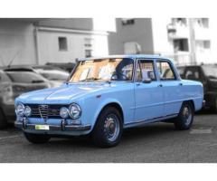 """Alfa Romeo Giulia Super 1.6 """"Bollino ORO"""" del 1968, Perfetta"""