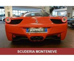 FERRARI 458 ITALIA  SCUDETTI PELLE NERA  rif. 7188680