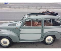 Fiat 500/C Topolino Giardinetta Belvedere Cabriolet