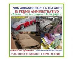 Acquisto la tua auto  in fermo amministrativo,pagamento immediato