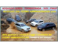 Acquisto auto in Fermo Amministrativo,chiamami pago contanti 3476989482
