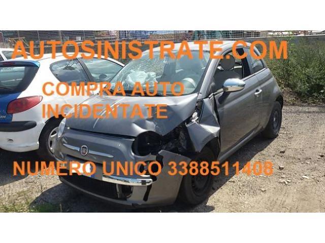 auto sinistrate incidentate acquistiamo Faenza