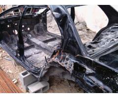 Scocca incidentata Mitsubishi Lancer Evo 9 con doc per espatrio