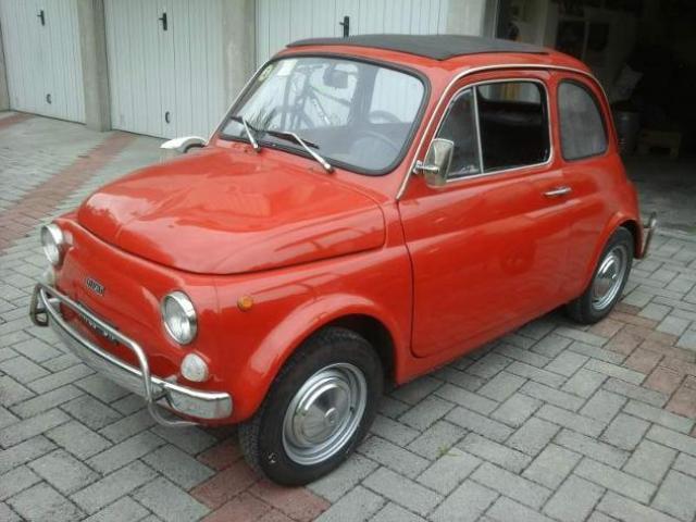 Fiat 500L 1969 epoca ASI