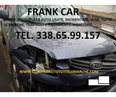 AUTO USATE, INCIDENTATE, FUSE, COMPRO TEL. 338.65.99.157