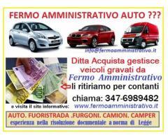 Acquisto auto veicoli in Fermo Amministrativo,pago contanti
