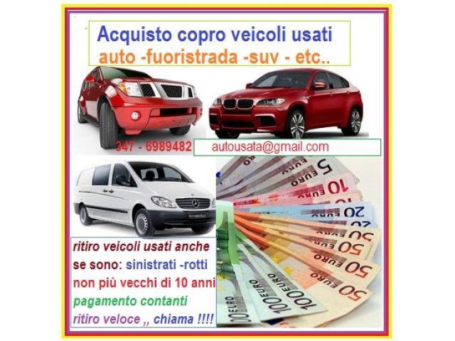 Ditta acquista auto fuoristrada usati per contanti