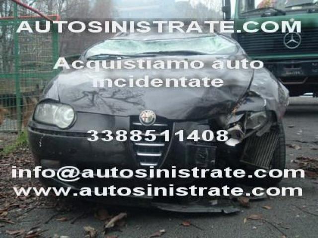 compriamo auto incidentate con motore fuso Arezzo
