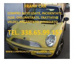 ACQUISTO AUTO USATE, INCIDENTATE, FUSE TEL. 338 65 99 157
