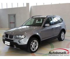 BMW X3 2.0 D STEPTRONIC 177 CV Cambio automatico 4X4 Interno in pelle Radio cd Sensori di parcheggio
