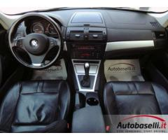 BMW X3 2.0 D STEPTRONIC 177 CV Cambio automatico 4X4 Interno in pelle Radio cd Sensori di parcheggio