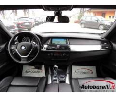 BMW X6 XDRIVE 35D FUTURA 286 CV Cambio automatico Pad Navigatore Pelle Fari Xeno Bluetooth Cerchi in