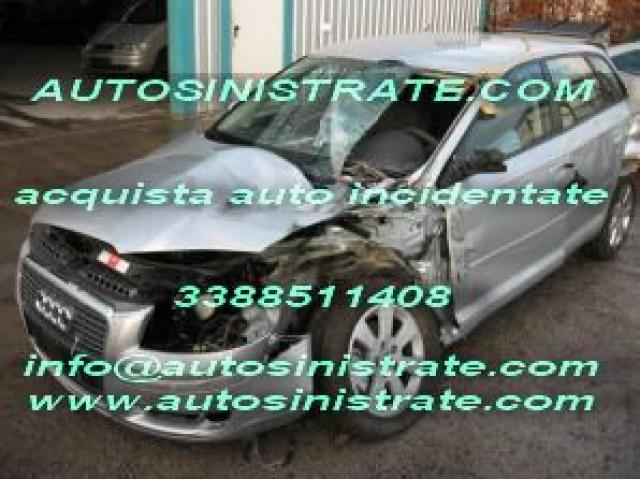 acquisto auto incidentate, sinistrate