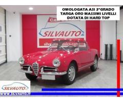 ALFA ROMEO Giulietta SPIDER 750D 65CV PASSO CORTO CON HARD TOP - ASI