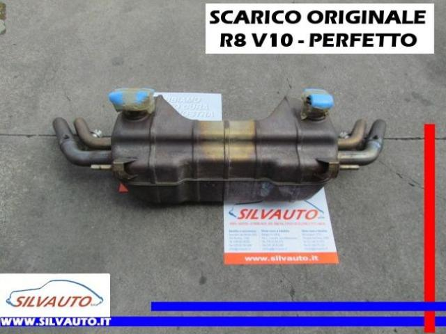 AUDI R8 SCARICO ORIGIN. Spyder 5.2 V10 FSI Q R-TRO 525CV