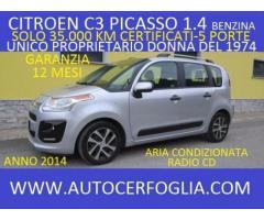 CITROEN C3 Picasso 1.4 VTi 95 Exclusive-SOLO 35.000 KM CERTIFICATI