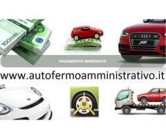 Valutiamo ed acquistiamo il tuo veicolo in fermo amministrativo! Bergamo
