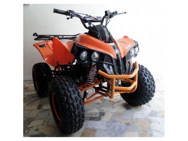 Quad Warrior Racing 125cc R8