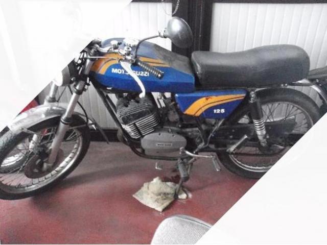 Moto Guzzi 125 - ANNO 1976