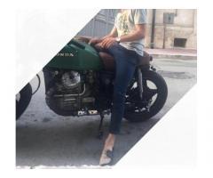 HONDA cx 500 CAF RACER- SCRAMBLER scam/perm
