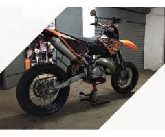 KTM 125 EXC Motard doppia omologazione