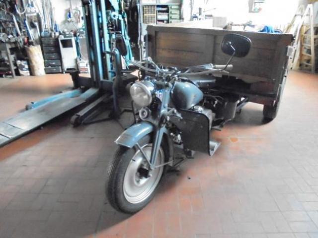 MOTO GUZZI 500 ERCOLE MOTOCARRO