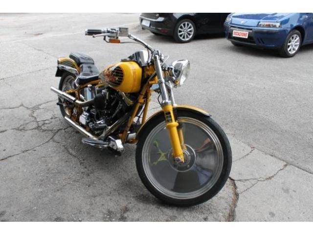 ABARTH 500 Harley Davidson 1340 Softail CERCHI PIENI BORSA