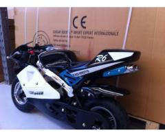 MINIMOTO R6 49CC 2 TEMPI IN CARBONIO CROSS