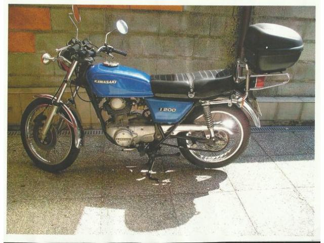 KAWASAKI KZ 200 A  del 1977