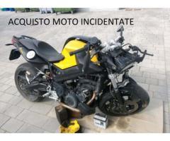 ritiro in tutto il centro nord Italia moto incidentate o non funzionanti