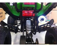 Quad 125cc 4 tempi grande fuoristrada ruote da 8' con retromarcia