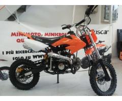 Pitbike 125cc 4 tempi ruote 12/14 con 3 marcie CASCO in omaggio
