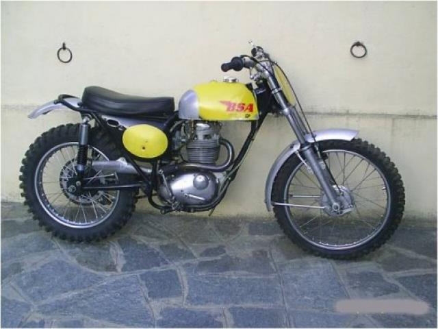 BSA  Victor GP B44 cross cc 441 immatricolata 1967