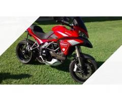 Ducati Multistrada 1200 - 2012 con valigie
