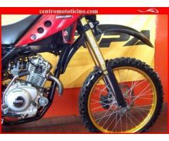 FANTIC MOTOR Caballero 125 Rosso Nero - 6400