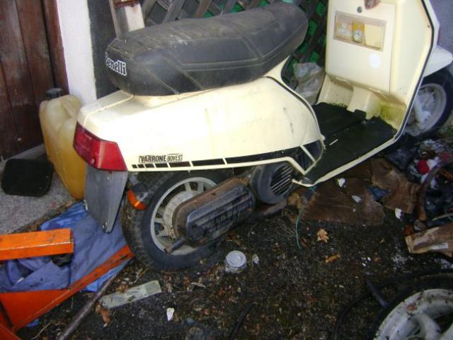 Scooter epoca Benelli 125 S