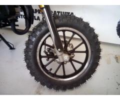 mini cross 49cc 2 tempi ruote da 10' tacchettate