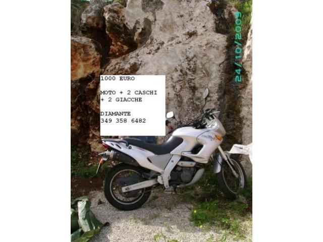Vendo Aprilia Pegaso 650 colore grigio in buone condizioni 35000 km.