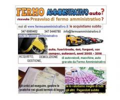A Bologna compriamo autoveicoli in Fermo Amministativo, contanti
