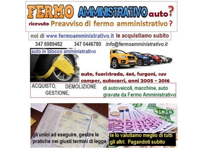 Acquistiamo a Bologna in fermo amministrativo autoveicoli tutti