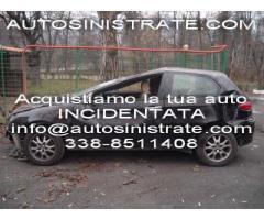 compriamo auto incidentate con motore fuso Bologna