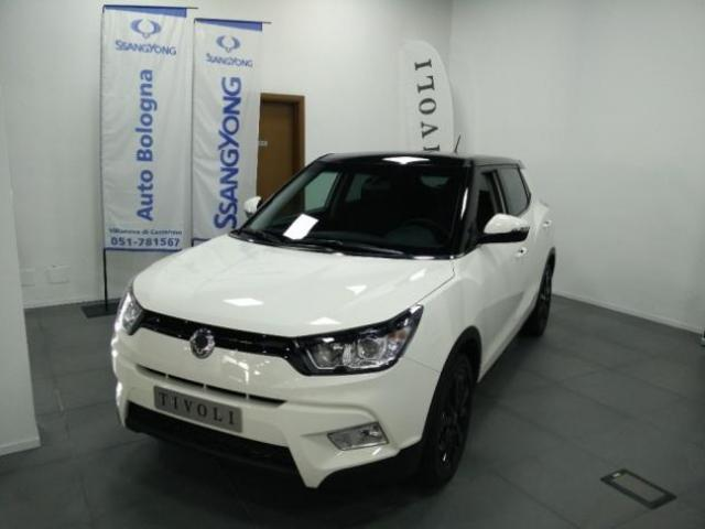 SSANGYONG Tivoli 1.6ds BE Visual Navy