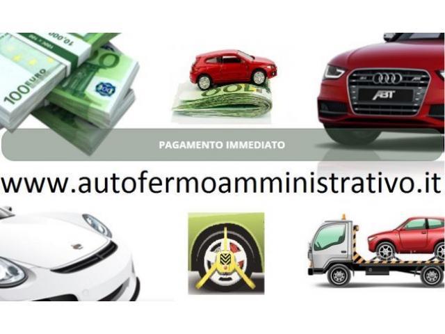 Valutiamo ed acquistiamo il tuo veicolo in fermo amministrativo! Bolzano
