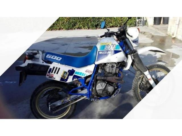 Suzuki DR 600 Enduro - 1988